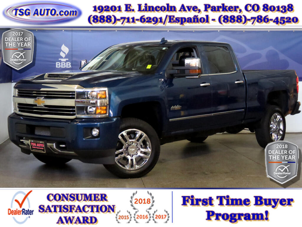 2017 Chevrolet Silverado 2500HD High Country Crew Cab 6.6L V8 Turbo Diesel 4WD