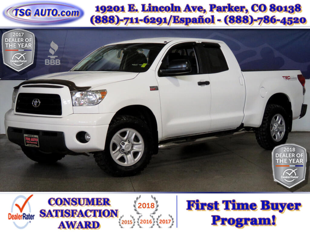 2009 Toyota Tundra 4WD Truck TRD Rock Warrior Double Cab 5.7L V8 4WD