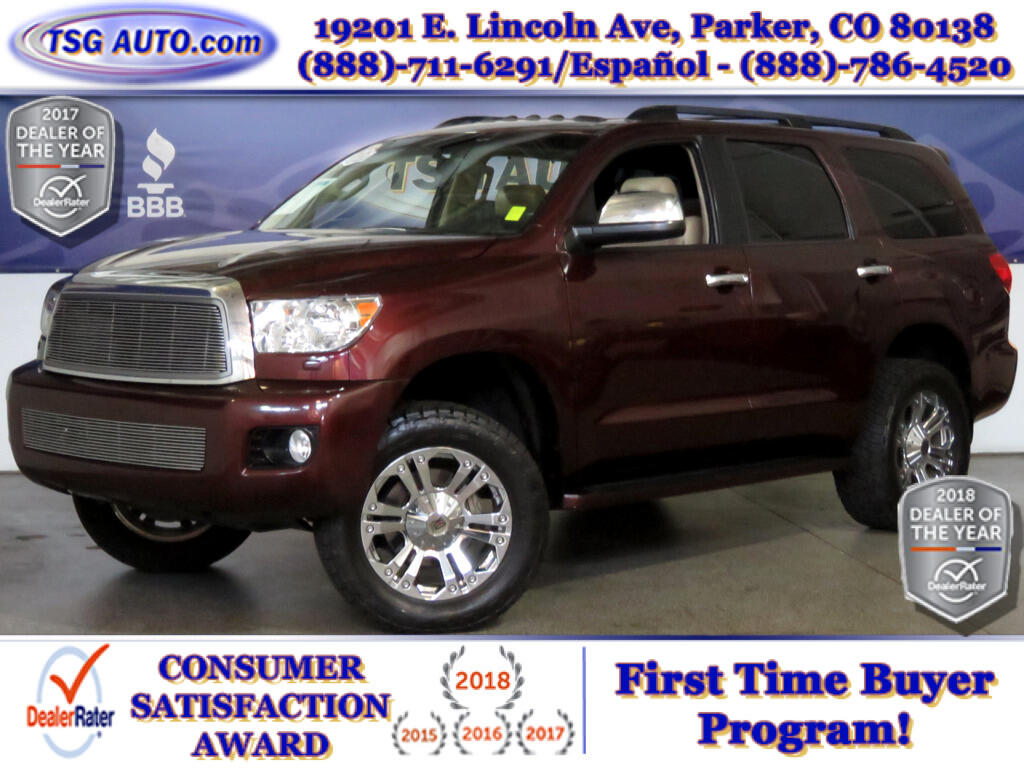 2011 Toyota Sequoia Limited 5.7L V8 4WD W/Leather Lift