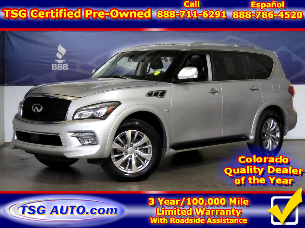 2017 Infiniti QX80 Limited 5.6L V8 4WD W/NAV Leather SunRoof