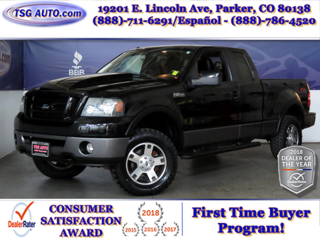 2008 Ford F-150 4WD Supercab Flareside 145