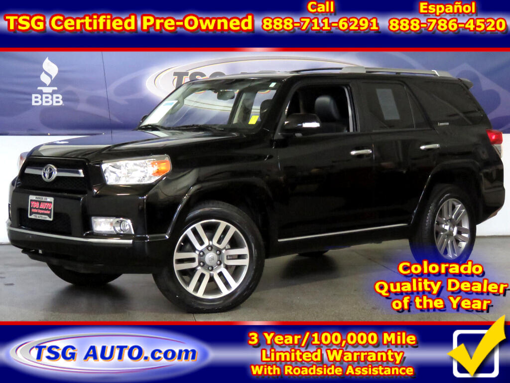 2012 Toyota 4Runner Limited 4.0L V6 4WD W/Leather