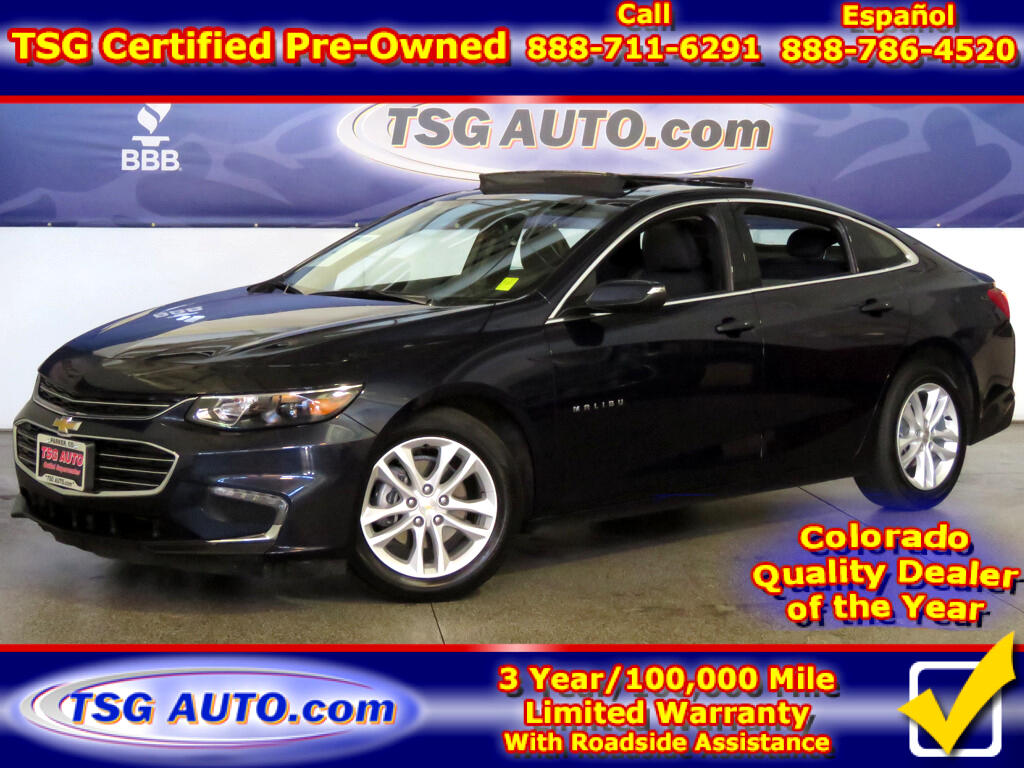 2018 Chevrolet Malibu LT 1.5L I4 Turbo W/SunRoof