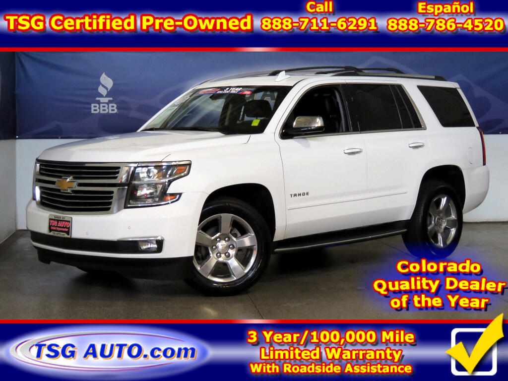 2017 Chevrolet Tahoe Premier 5.3L V8 4WD W/NAV Leather