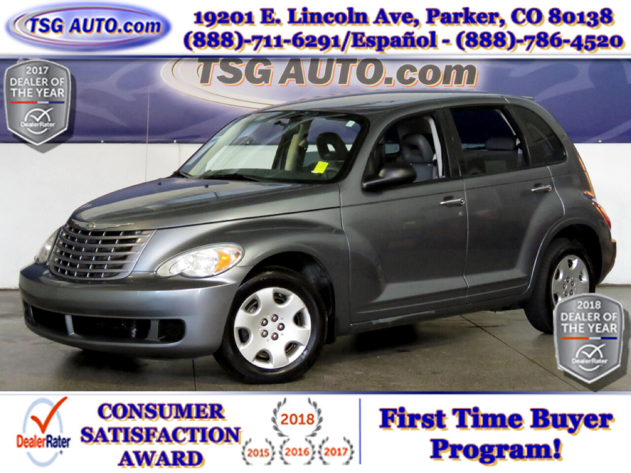 2008 Chrysler PT Cruiser 2.4L I4