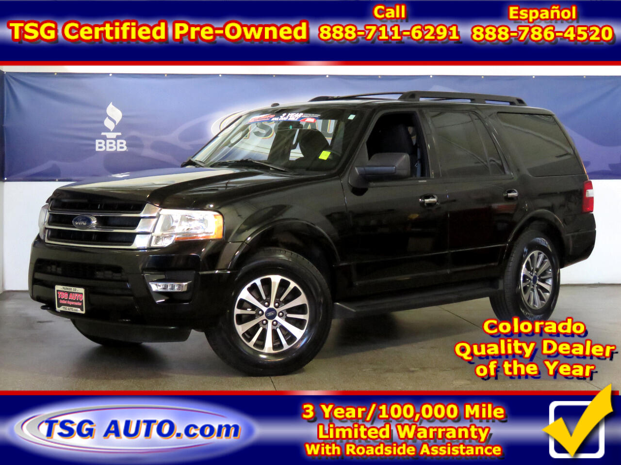 2017 Ford Expedition XLT 3.5L V6 Turbo 4WD W/Third Row