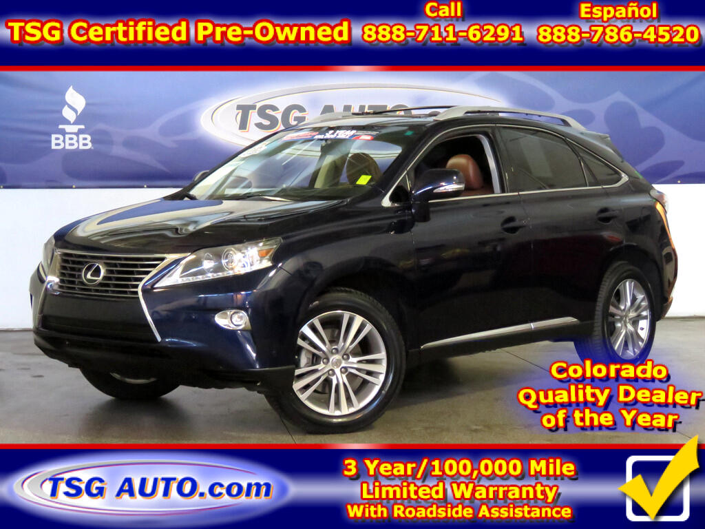 2015 Lexus RX 350 3.5L V6 AWD W/NAV Leather SunRoof