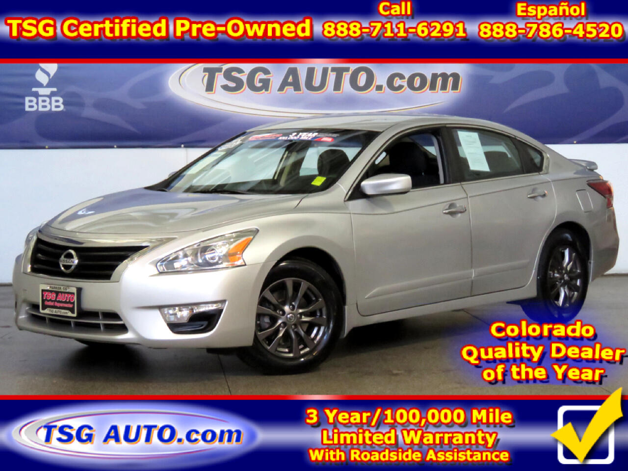 2015 Nissan Altima S Special Edition 2.5L I4