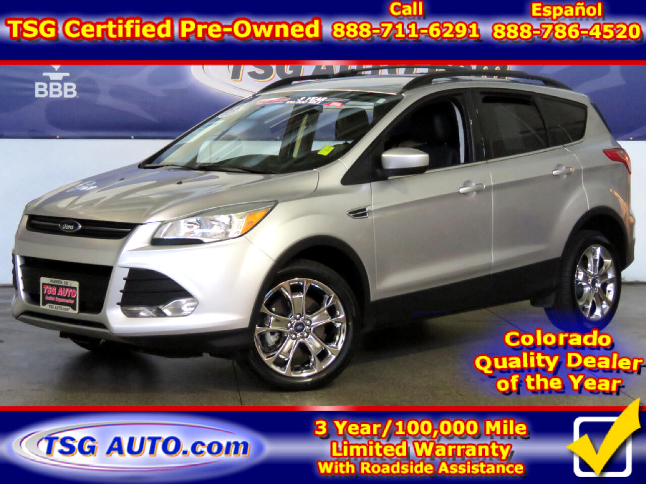 2015 Ford Escape SE 4WD W/Leather