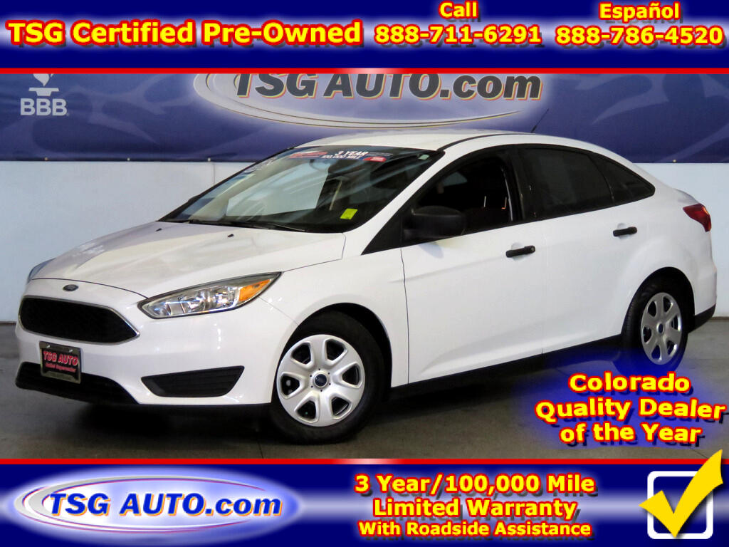2015 Ford Focus S 2.0L I4