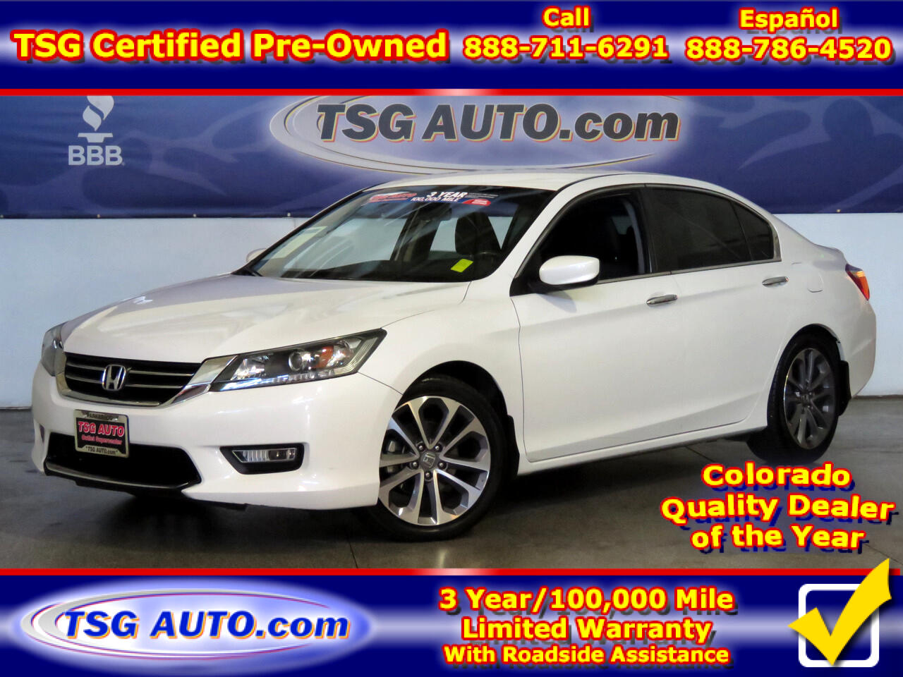 2013 Honda Accord Sport 2.4L I4