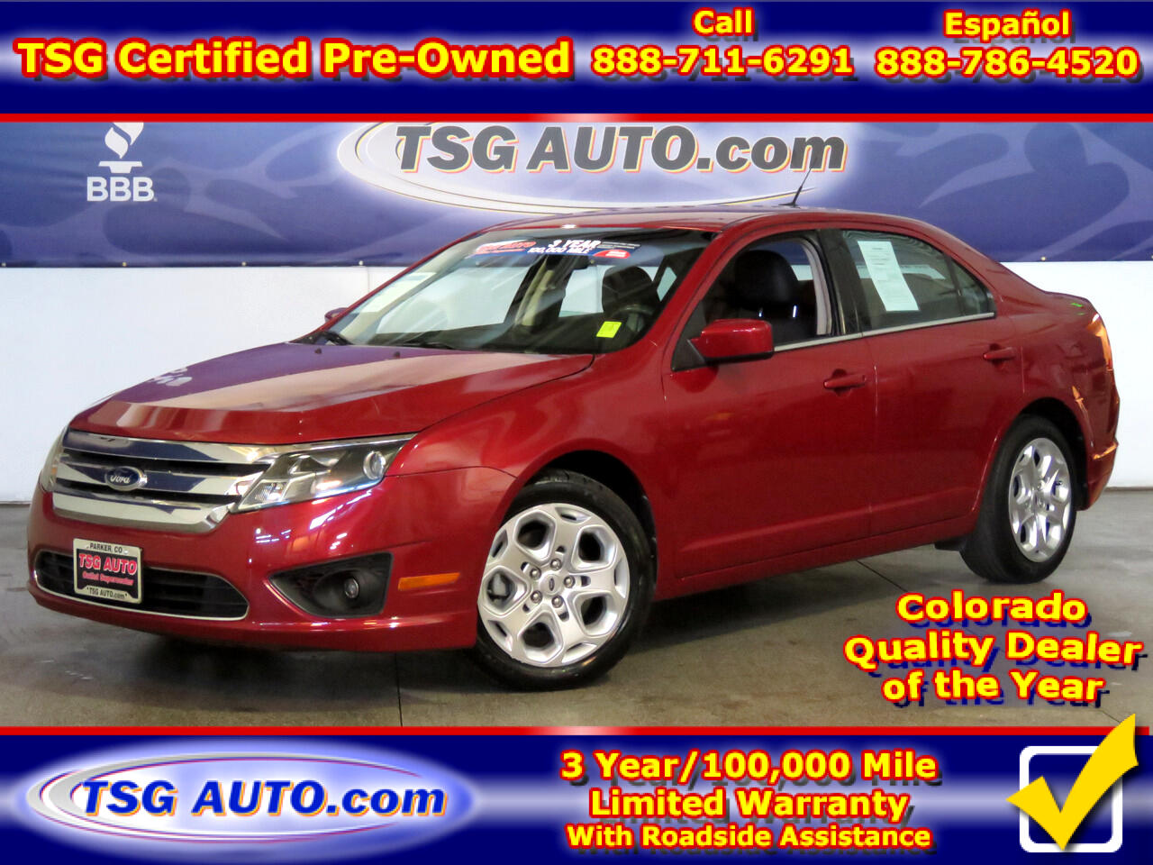 2010 Ford Fusion 4dr Sdn I4 SE