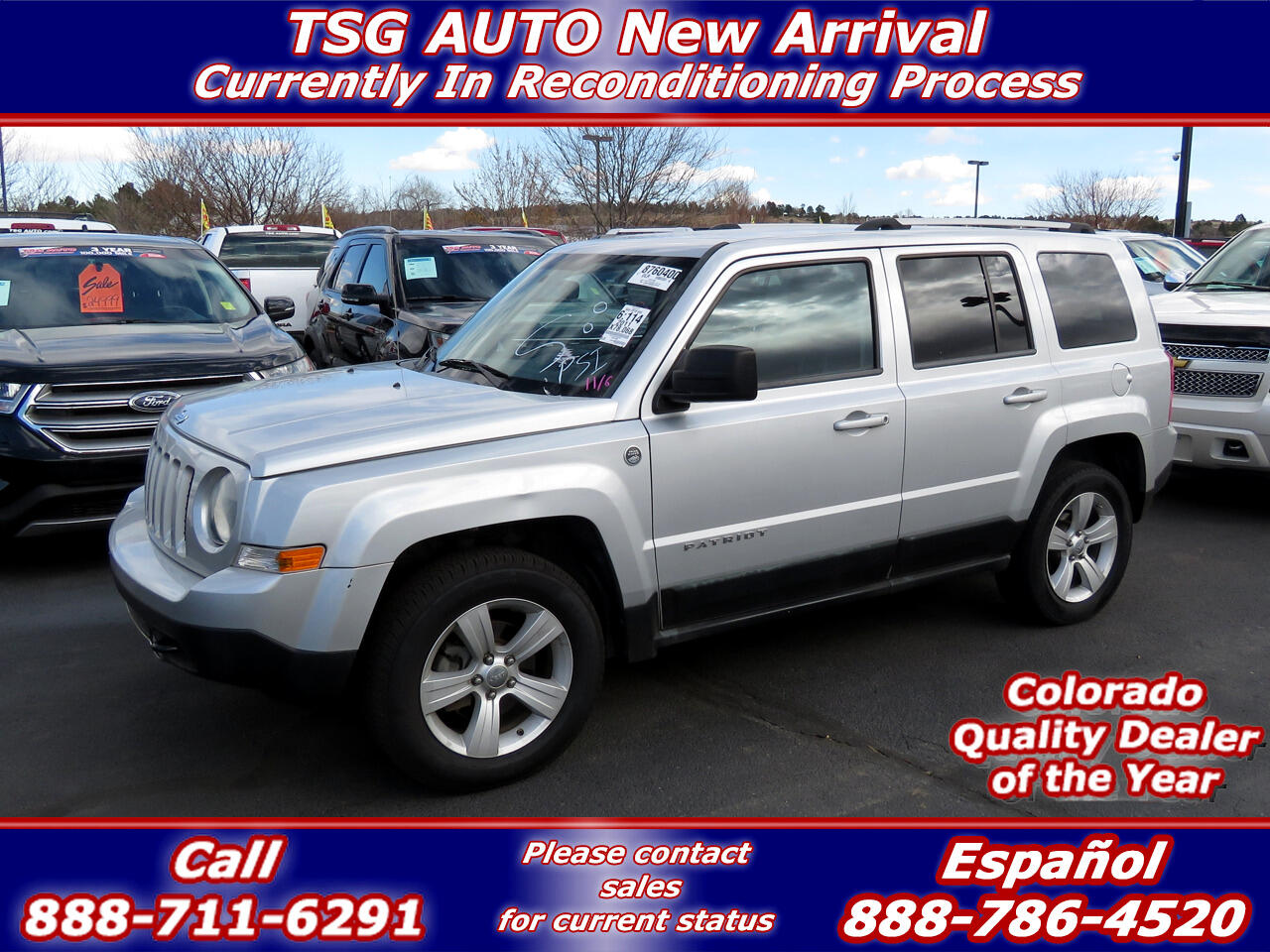 2011 Jeep Patriot Latitude 2.4L I4 4WD W/Leather