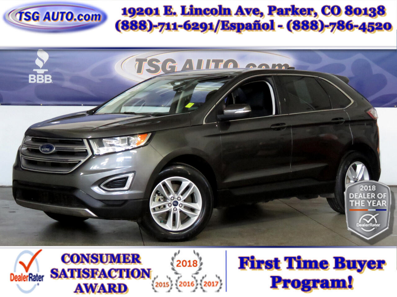 2015 Ford Edge AWD 4dr SEL