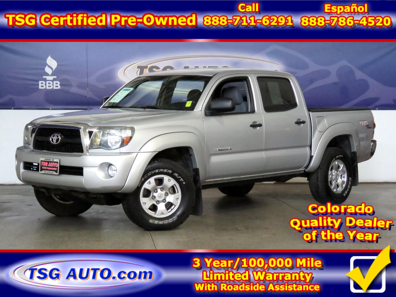 2011 Toyota Tacoma 4WD Double Cab V6 AT TRD Off Road (Natl)