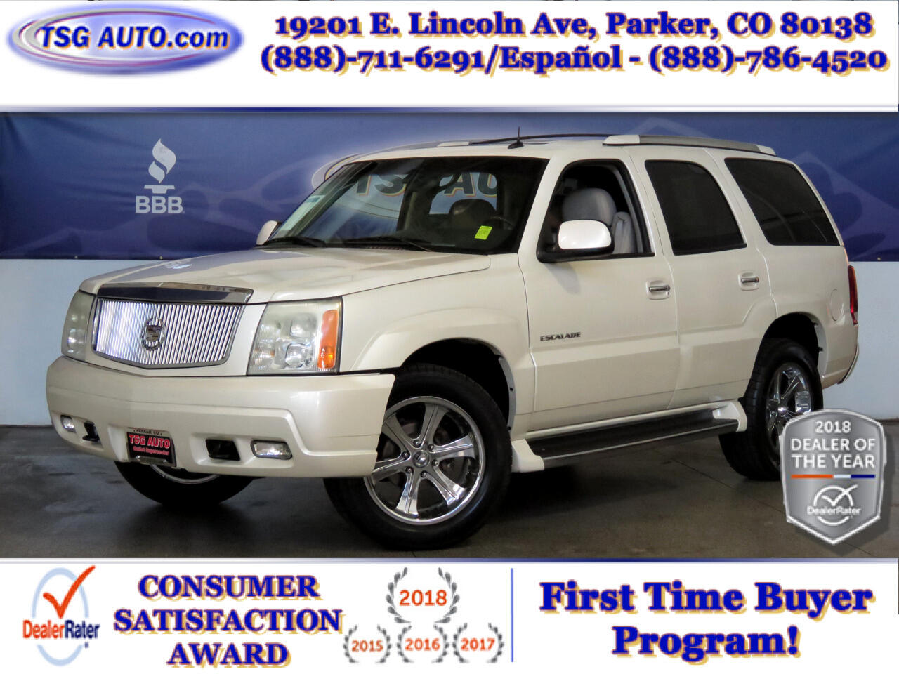 2003 Cadillac Escalade AWD 4dr Luxury