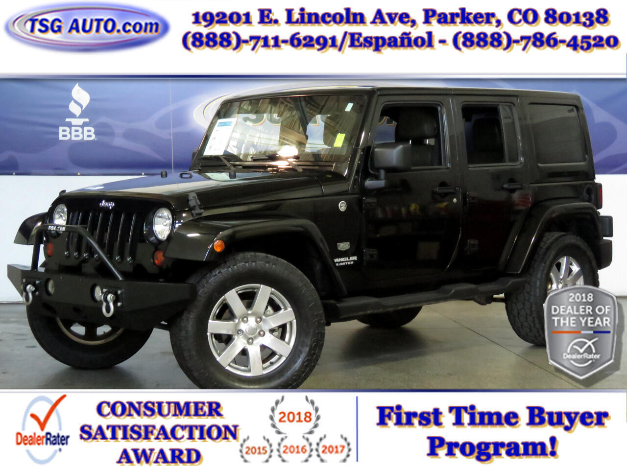 2011 Jeep Wrangler Unlimited 4WD 4dr 70th Anniversary *Ltd Avail*