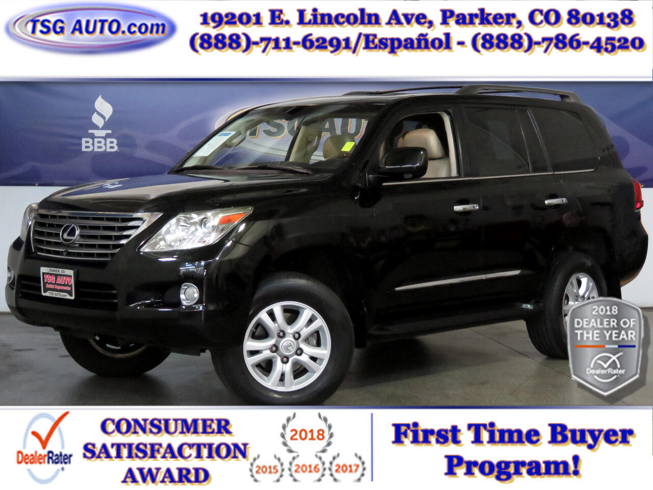 2010 Lexus LX 570 Three-Row