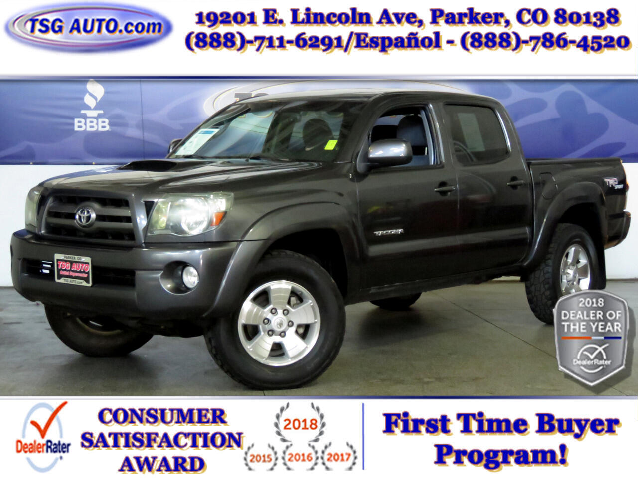 2010 Toyota Tacoma 4WD Double Cab V6 MT TRD Sport (Natl)