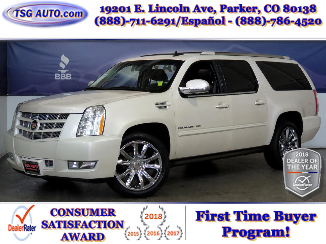 2013 Cadillac Escalade ESV 4WD 4dr Premium Collection