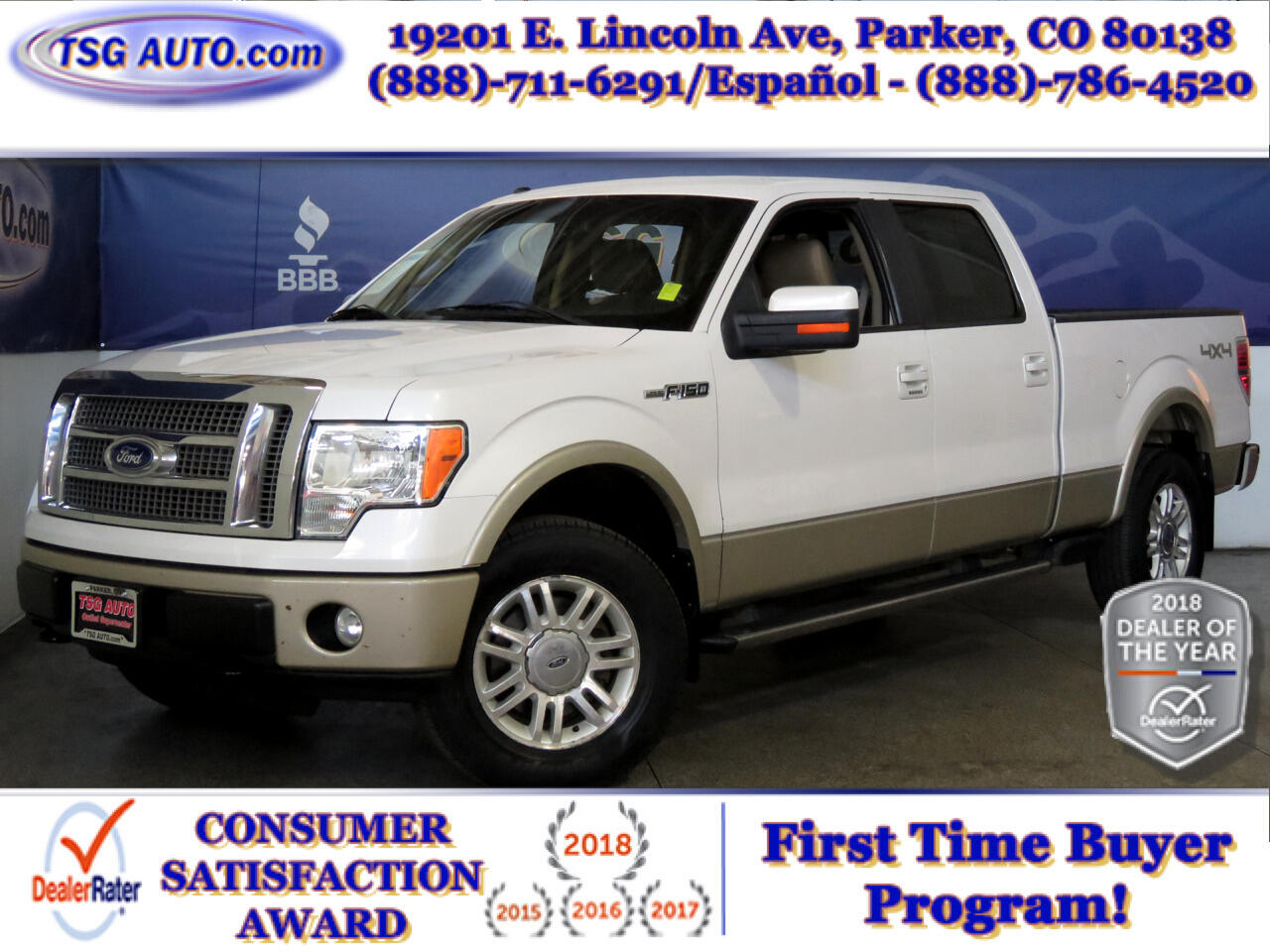 2010 Ford F-150 Lariat SuperCrew 4WD