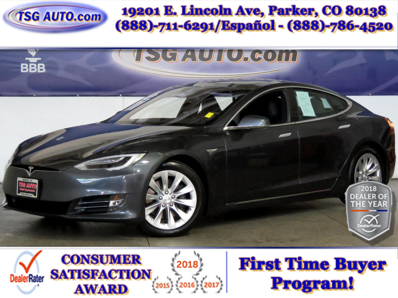 2016 Tesla Model S 4dr Sdn AWD 90D