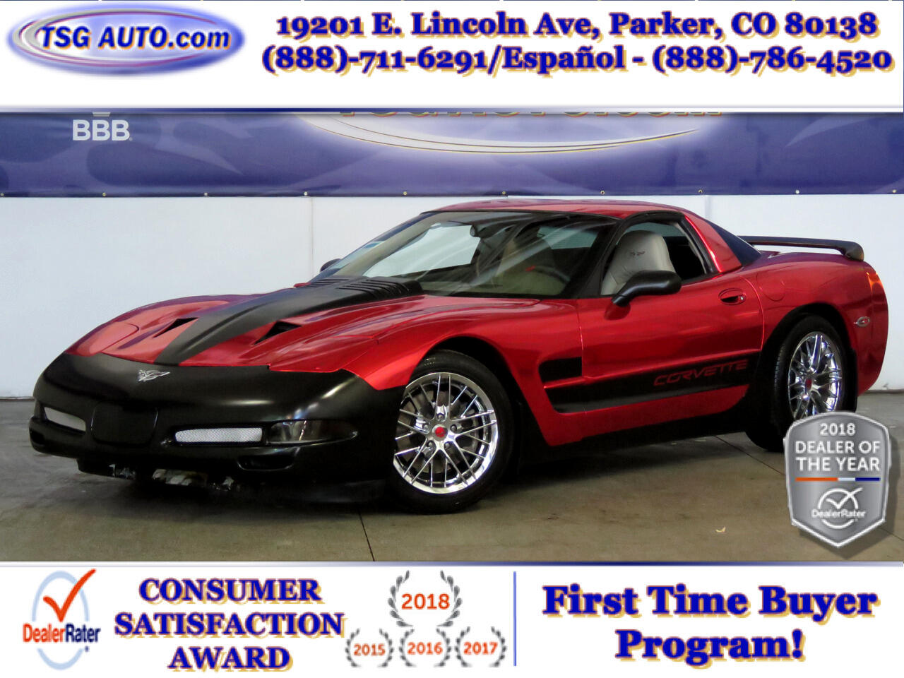 2003 Chevrolet Corvette 50th Anniversary Edition 5.7L V8