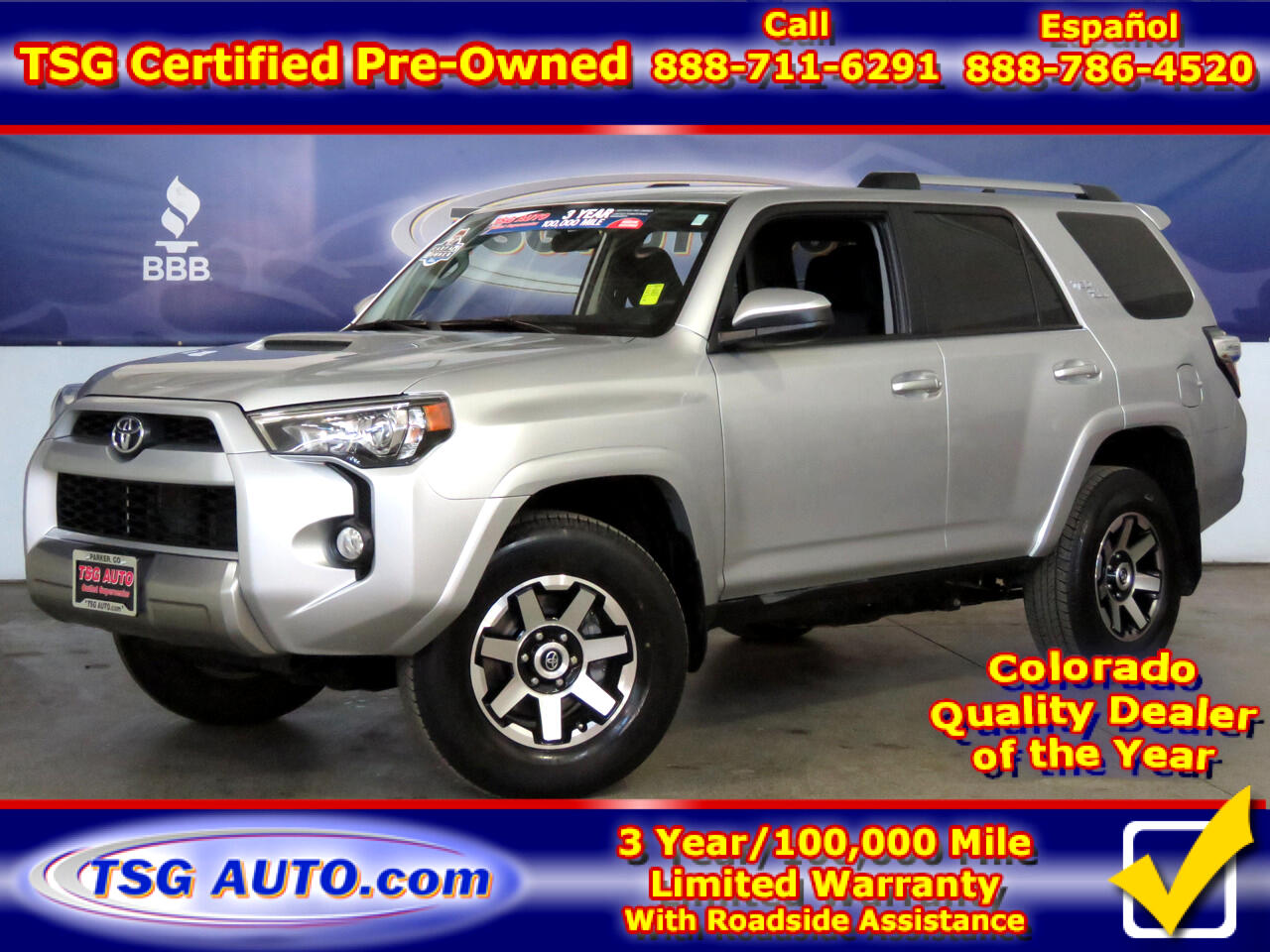2018 Toyota 4Runner TRD Off Road 4WD (Natl)