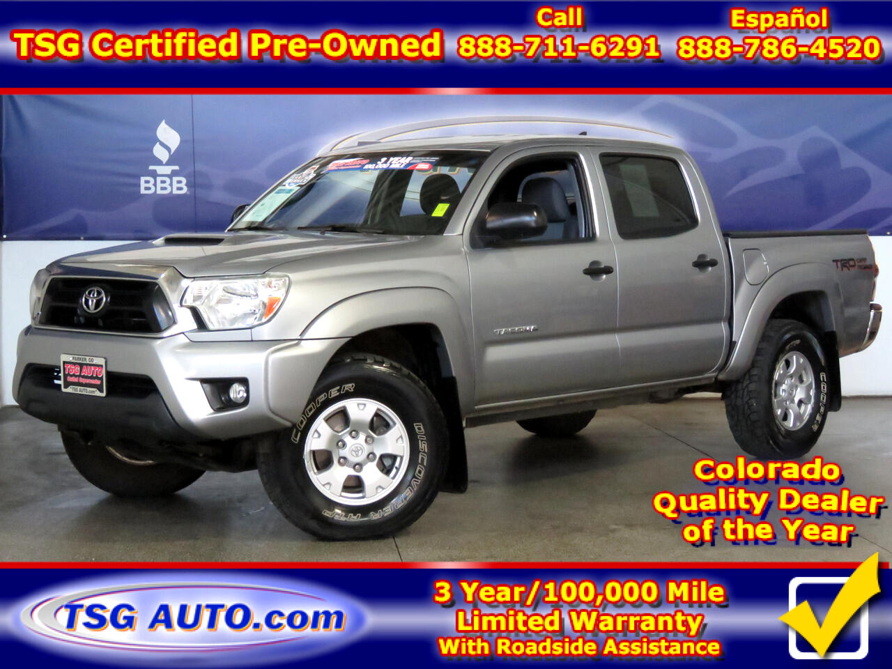 2014 Toyota Tacoma 4WD Double Cab V6 AT TRD Off Road (Natl)