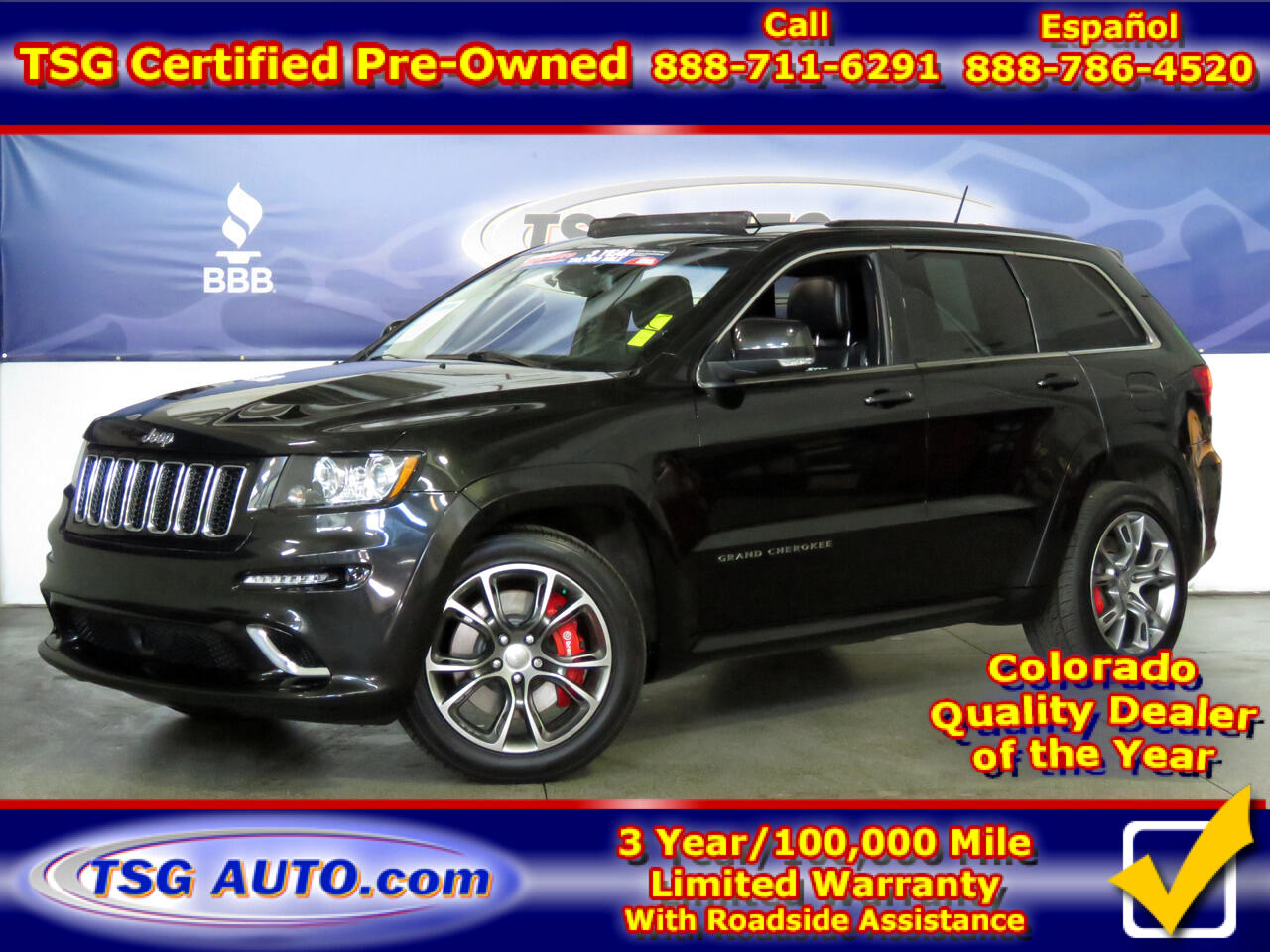 2012 Jeep Grand Cherokee 4WD 4dr SRT8