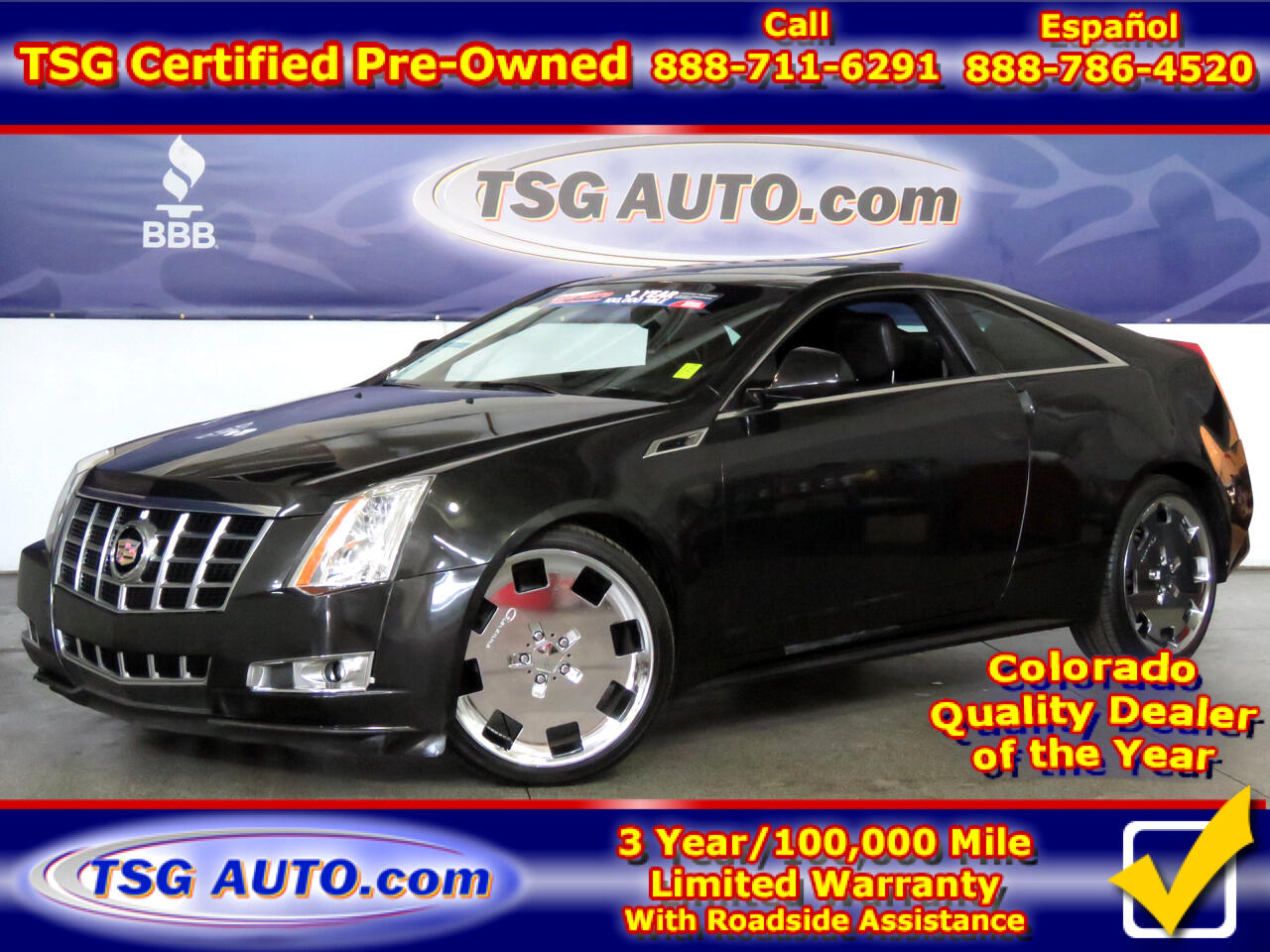 2013 Cadillac CTS Coupe Coupe 2dr Cpe Performance AWD