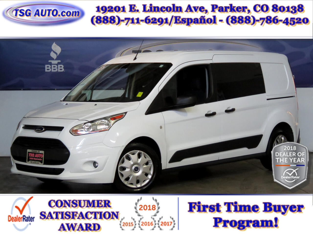 2016 Ford Transit Connect LWB XLT