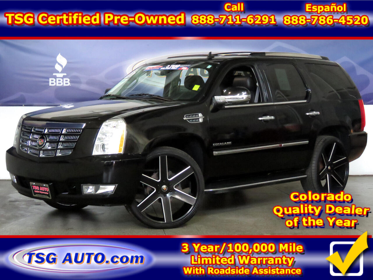 2014 Cadillac Escalade AWD 4dr Luxury