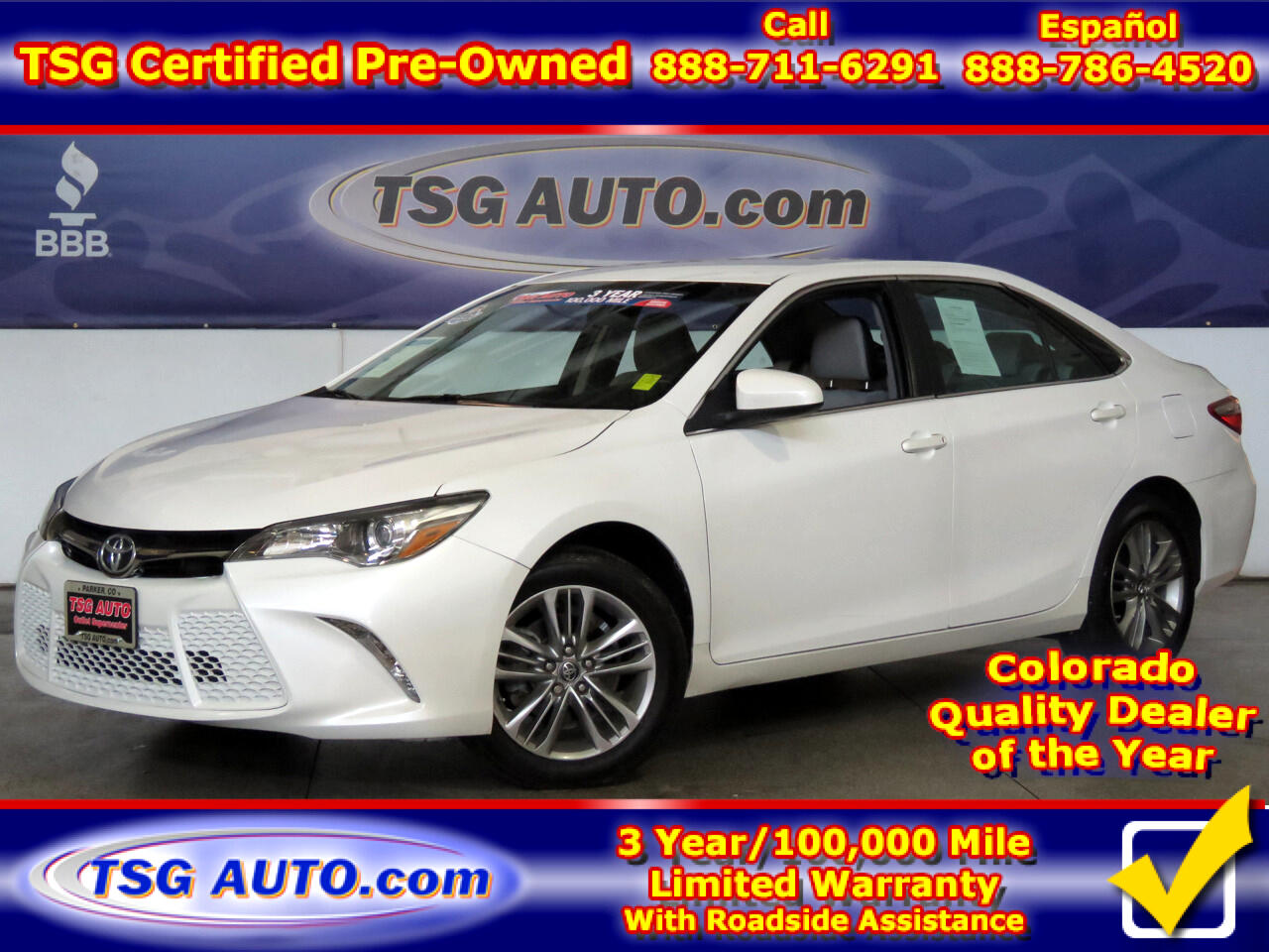 2016 Toyota Camry SE w/Special Edition Pkg (Natl)