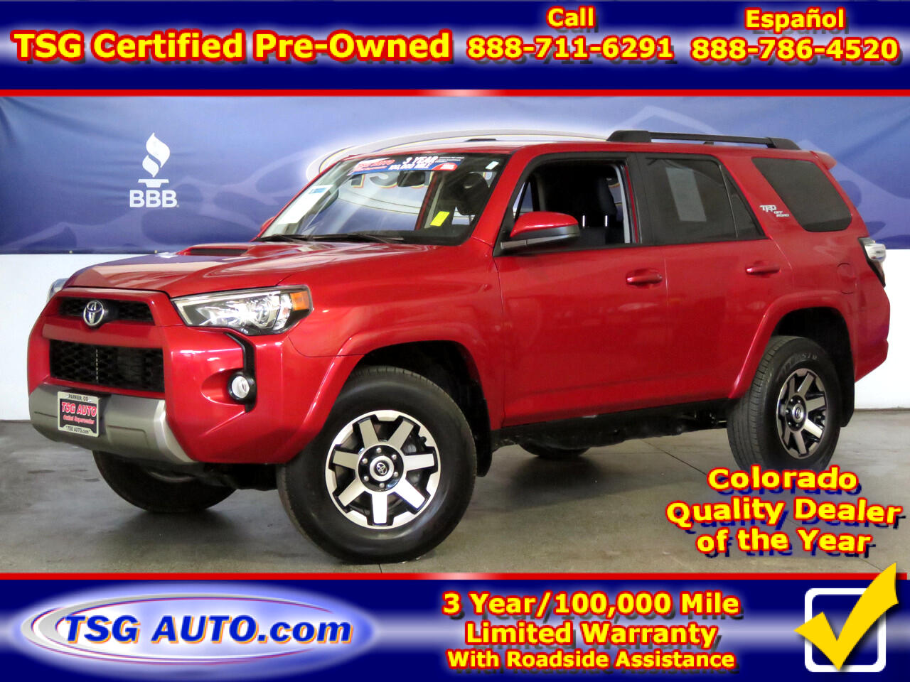 2019 Toyota 4Runner TRD Off Road Premium 4WD (Natl)
