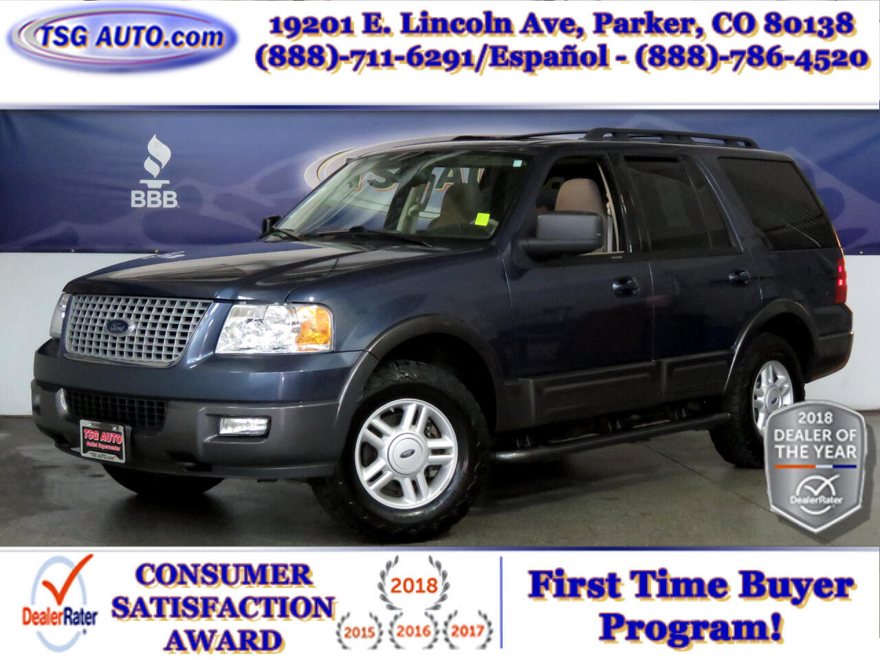 2005 Ford Expedition 5.4L XLT 4WD