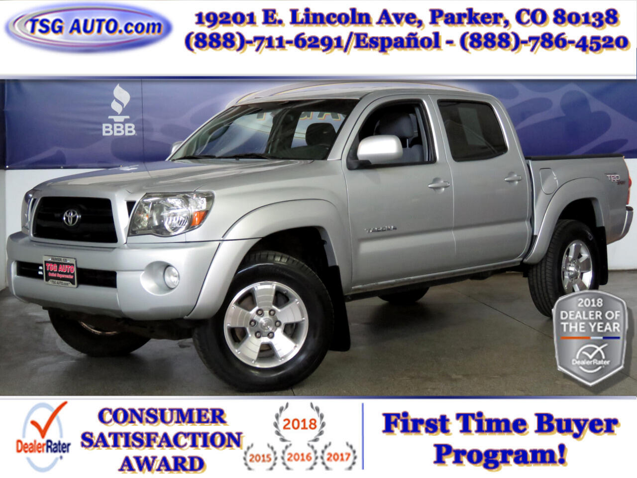 2008 Toyota Tacoma 4WD Double Cab V6 AT TRD Sport (Natl)