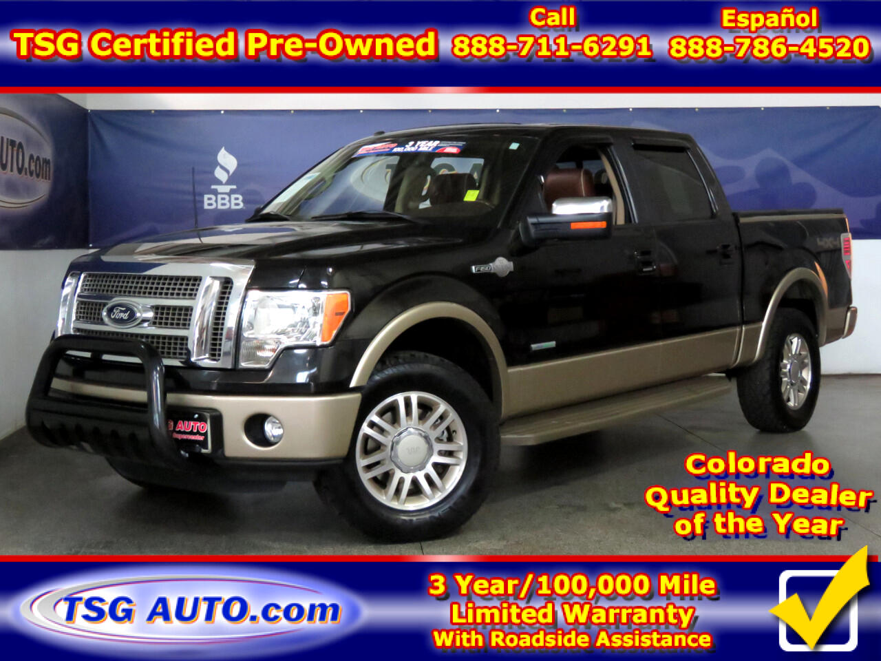 """2012 Ford F-150 4WD SuperCrew 145"""" King Ranch"""