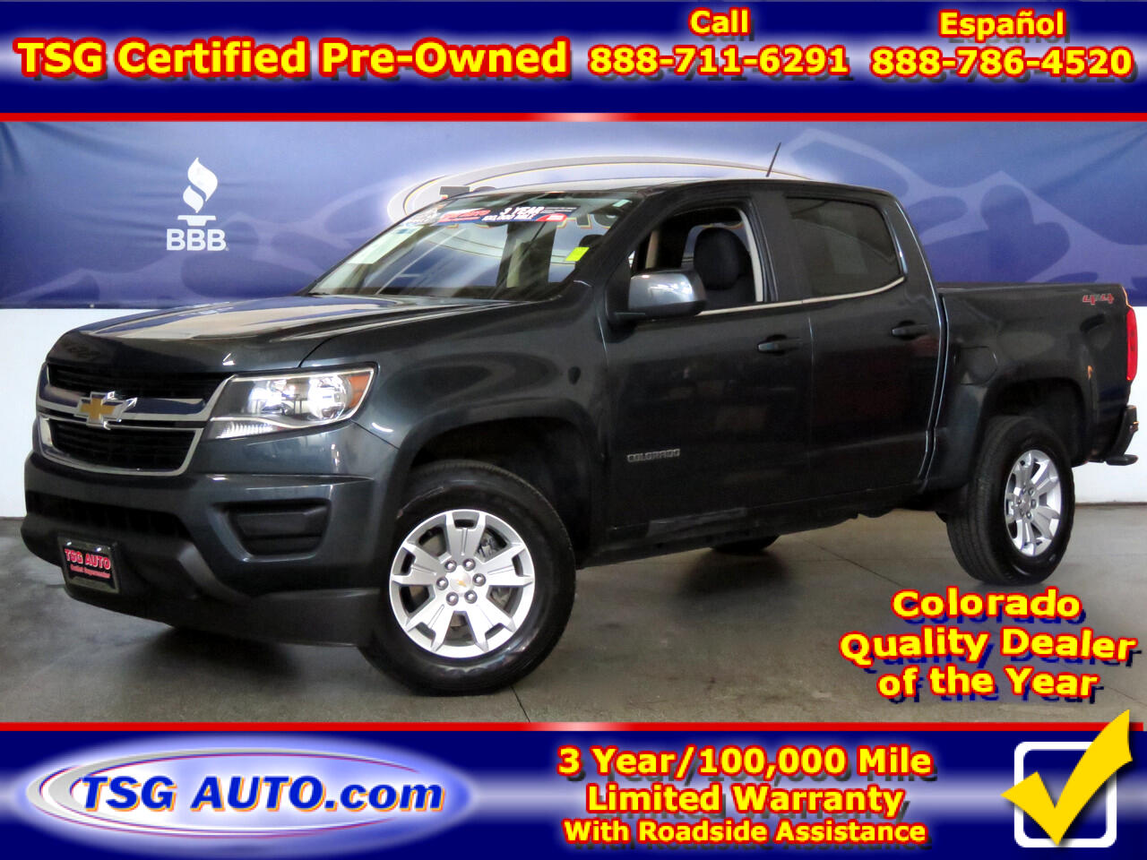"2019 Chevrolet Colorado 4WD Crew Cab 128.3"" LT"