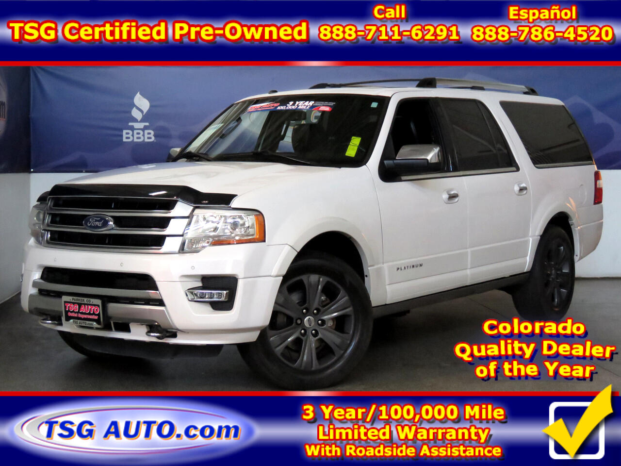 2016 Ford Expedition EL 4WD 4dr Platinum