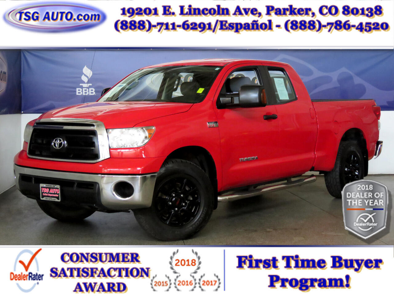 Toyota Tundra 4WD Truck Double Cab 5.7L V8 6-Spd AT SR5 (Natl) 2011