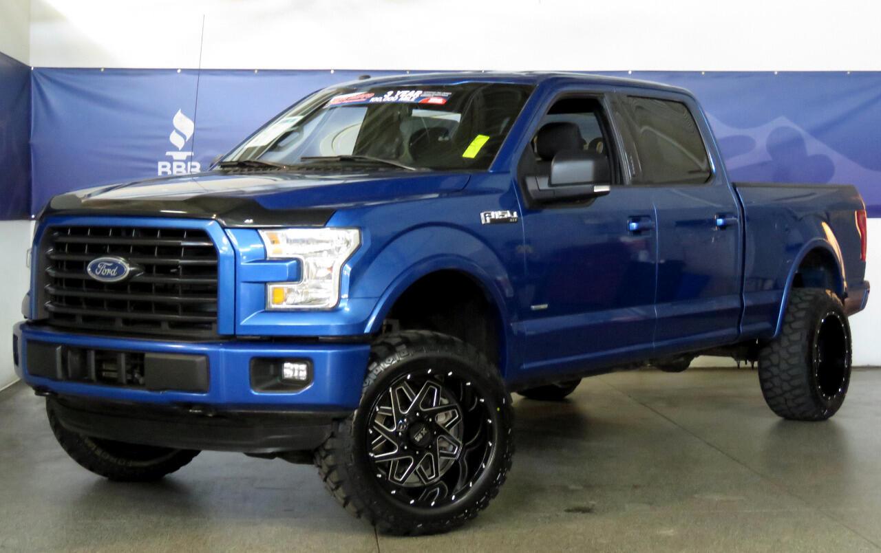 2016 Ford F-150 4WD SuperCrew XLT Sport W/Custom Lift/Wheels/Tires