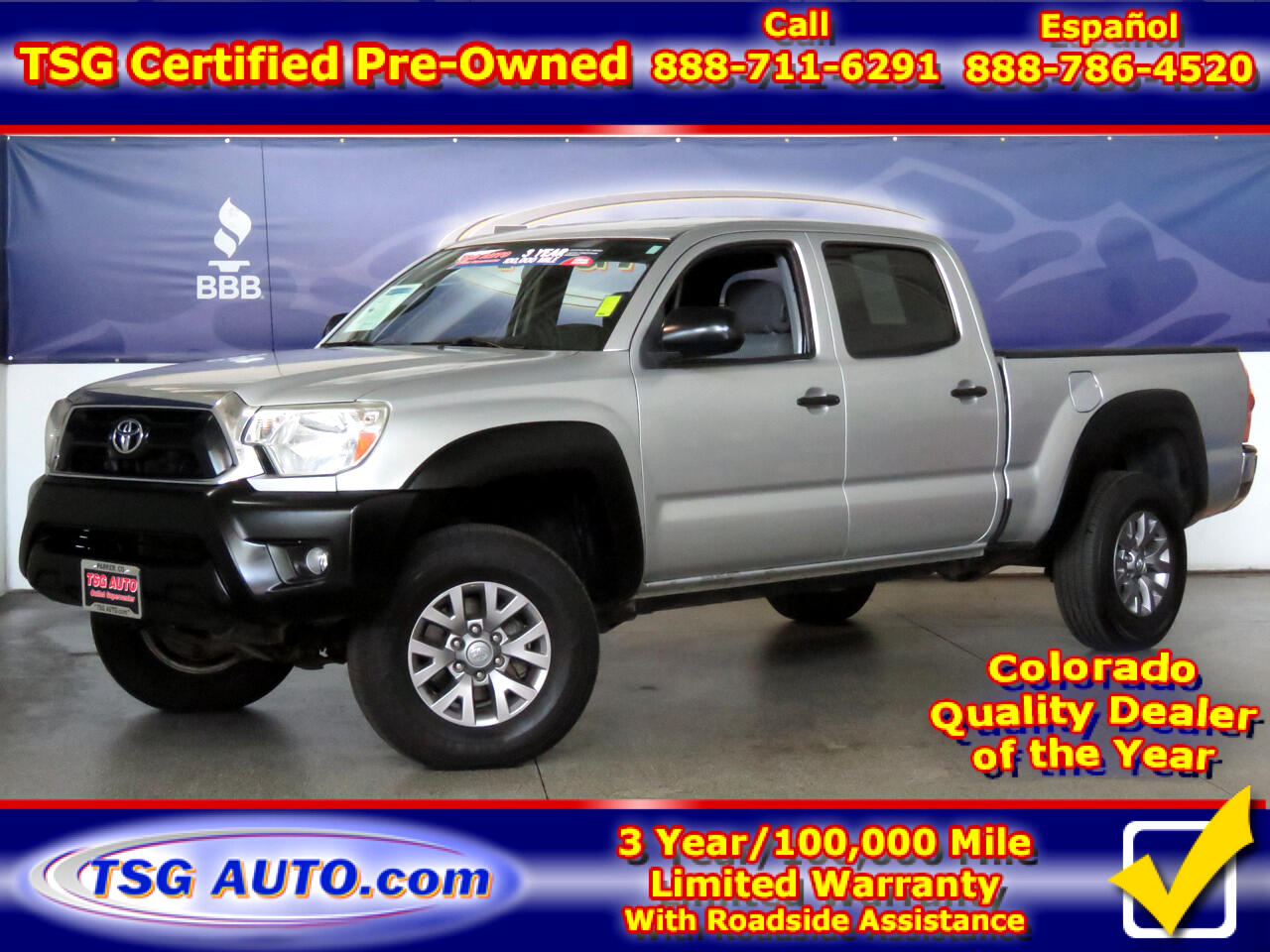2013 Toyota Tacoma 4WD Double Cab LB V6 AT (Natl)