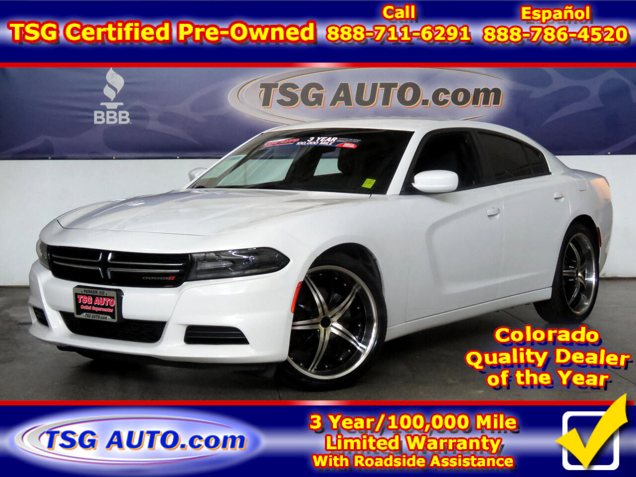 2015 Dodge Charger 4dr Sdn SE