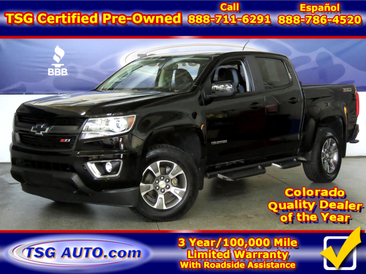 2016 Chevrolet Colorado 4WD Crew Cab 128.3