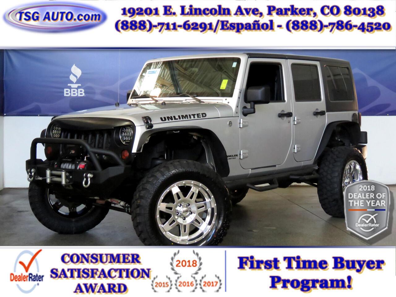 2009 Jeep Wrangler Unlimited 4WD X W/Custom Lift/Tires/Wheels/Winch/Bumper