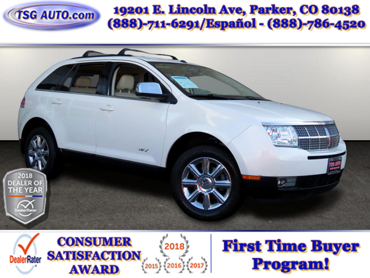 Lincoln MKX AWD 4dr 2007