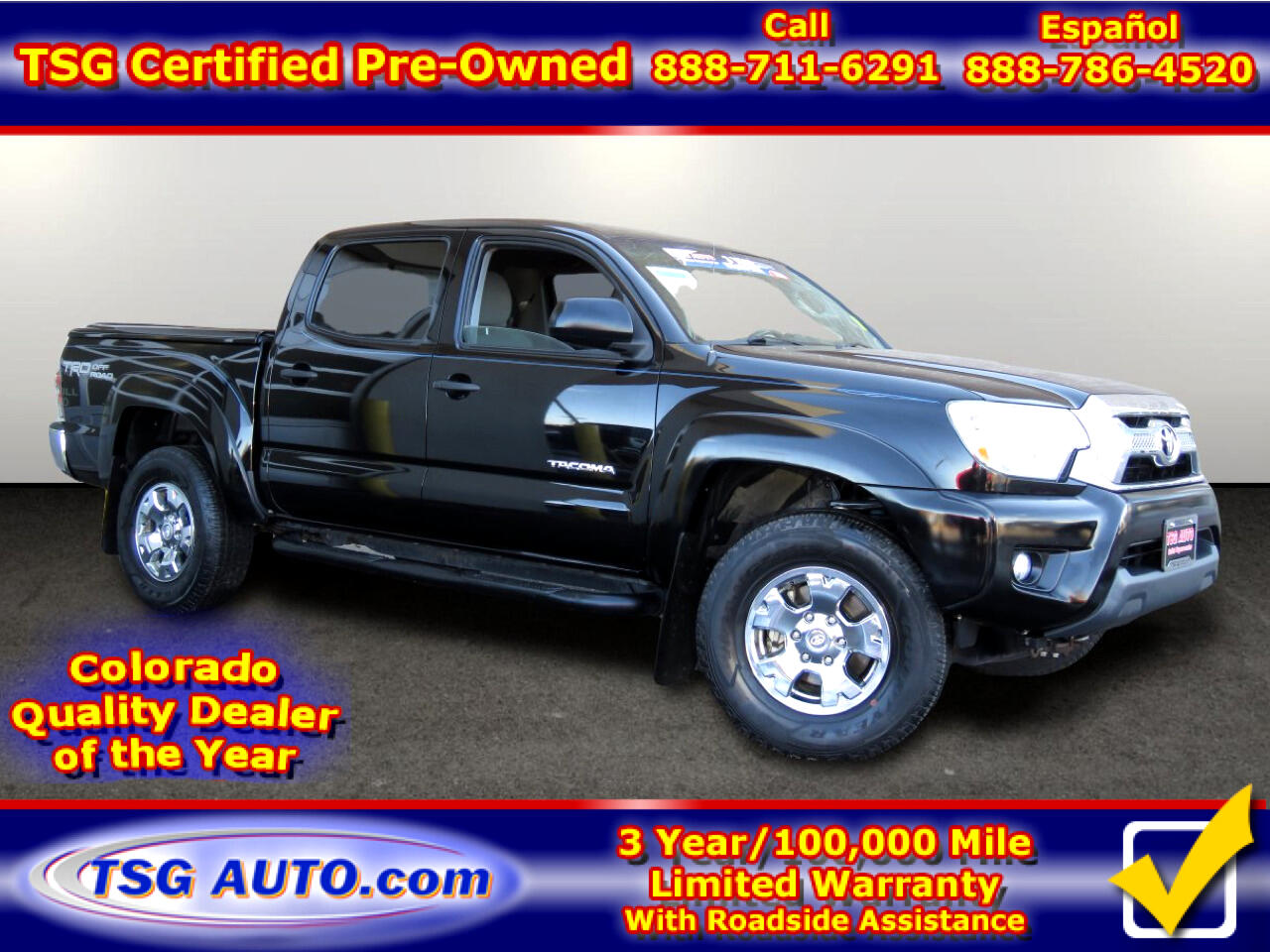 Toyota Tacoma 4WD Double Cab V6 AT TRD Off Road (Natl) 2014