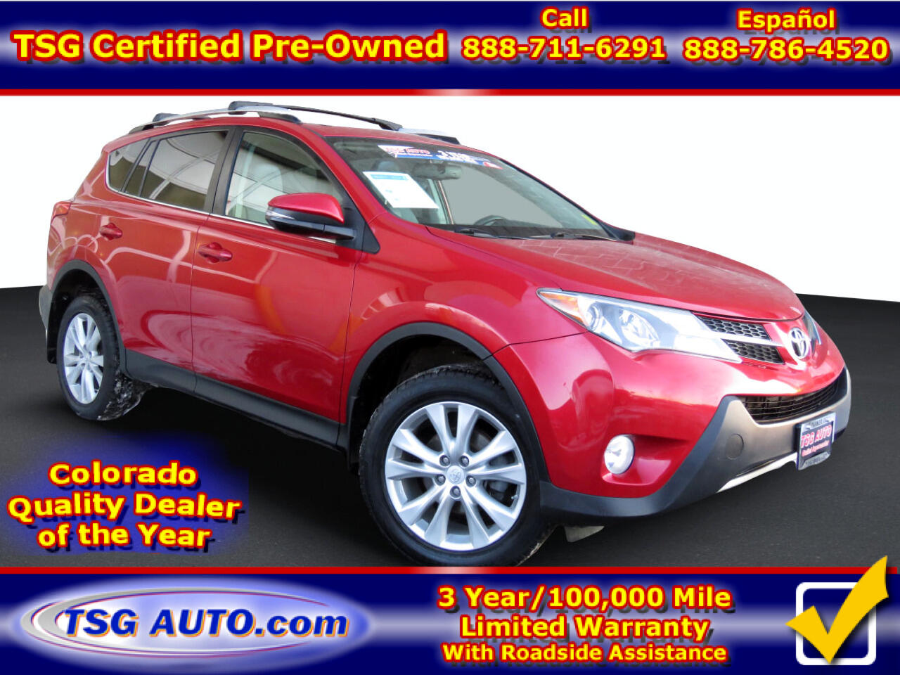 Toyota RAV4 AWD 4dr Limited (Natl) 2014