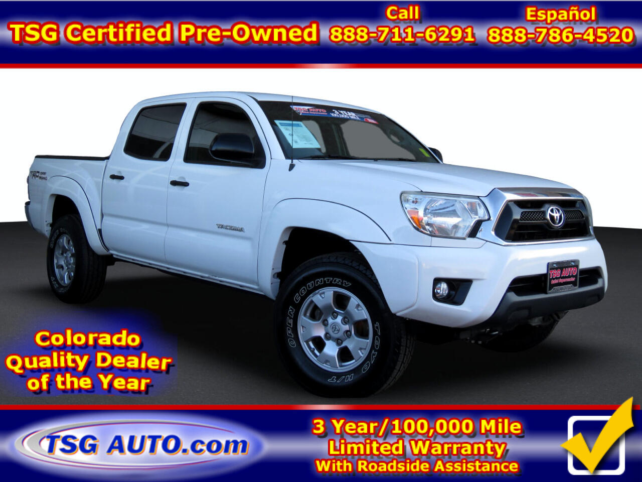 Toyota Tacoma 4WD Double Cab V6 AT TRD Off Road (Natl) 2015